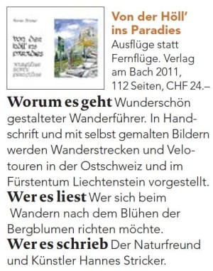 Hoell ins Paradies Wanderbuch Empfehlung
